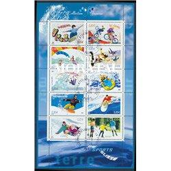 2004 France  Sc# 3045  (o) Used, Nice. Skateboard, Parachuting, Windsurfing, Surf, Sled, Jet-ski (Scott)