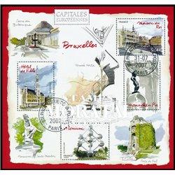 2007 France  Sc# 3340  (o) Used, Nice. Bruselas (Scott)