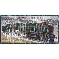 "2012 France  Sc# 0  ** MNH Very Nice. Steam locomotive. ""The Pacific 231K8"" (Scott)"