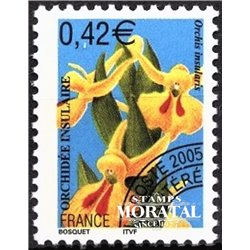 2005 France  Sc# 3168  ** MNH Very Nice. Flowers.- Orchids. Orchis insularis (Scott)