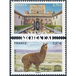 2010 France  Sc# 2O65/66  ** MNH Very Nice. UNESCO (Scott)