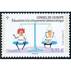 2013 France  Sc# 1O71  ** MNH Very Nice. Council of Europe (Scott)