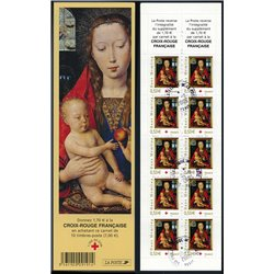 """2005 France  Sc# B710a  (o) Used, Nice. Red Cross. Hans Memling """"The Virgin and Child"""" (Scott)"""