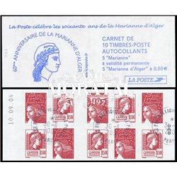 0 France  Sc# 0  (o) Used, Nice. Marianne 14/07, d'Alger (Scott)