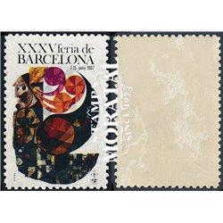 [16] 1967 Spain 35 XXXV Barcelona Fair  * MH Nice  (Scott)