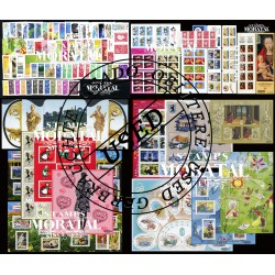 [21] 2005 France  Year Set Complete (o) Used, Nice   + 12 Sheets + 8 Booklet Stamps in Perfect Condition. LUXE ()