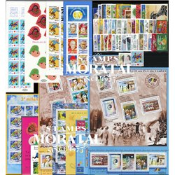 [21] 2000 France  Year Set Complete **MNH LUXURY   + 8 Sheets + 4 Booklet Stamps in Perfect Condition. LUXE ()