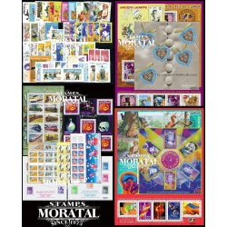 [21] 2001 France  Year Set Complete **MNH LUXURY   + 10 Sheets + 4 Booklet Stamps in Perfect Condition. LUXE ()