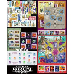 [21] 2001 France  Year Set Complete **MNH LUXURY   + 10 Sheets Stamps in Perfect Condition. LUXE ()