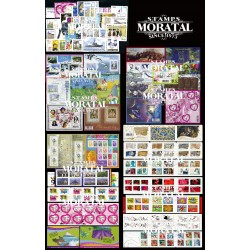 [21] 2009 France  Year Set Complete **MNH LUXURY   + 16 Sheets + 11 Booklet Stamps in Perfect Condition. LUXE ()