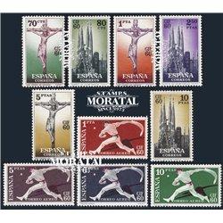 1960 Spanien 1177/1186  C.I.F. Amtlichen Stellen ** Perfekter Zustand  (Michel)