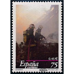 2001 Spanien 3610 Feuer  ** Perfekter Zustand  (Michel)