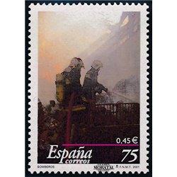 2001 Espagne 3344 Feu  **MNH TTB Très Beau  (Yvert&Tellier)