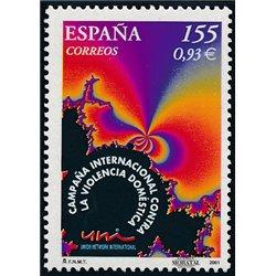 2001 Spanien 3612 Häusliche Gewalt  ** Perfekter Zustand  (Michel)