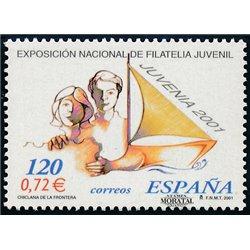 2001 Espagne 3348 Juvenia 2001  **MNH TTB Très Beau  (Yvert&Tellier)