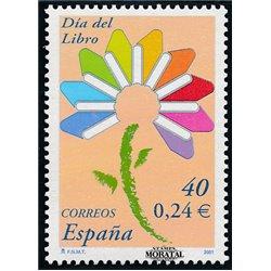 2001 Spanien 3622 Tag des Buches  ** Perfekter Zustand  (Michel)