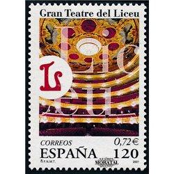 2001 Espagne 3361 Liceo  **MNH TTB Très Beau  (Yvert&Tellier)