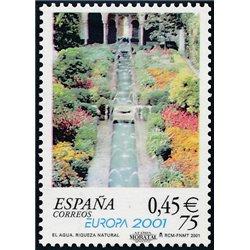 2001 Spanien 3629 Europa 2001  ** Perfekter Zustand  (Michel)