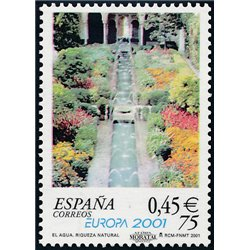 2001 Espagne 3363 Europe 2001  **MNH TTB Très Beau  (Yvert&Tellier)