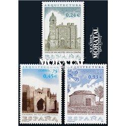 2001 Spanien 3630/3632  Architektur  ** Perfekter Zustand  (Michel)