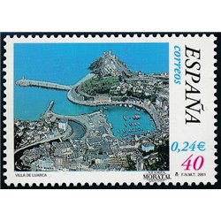 2001 Espagne 3367 Luarca  **MNH TTB Très Beau  (Yvert&Tellier)