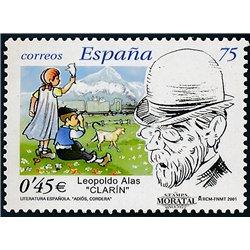 """2001 Spanien 3635 Leopoldo Alas """"Clarín""""  ** Perfekter Zustand  (Michel)"""