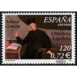 2001 Spanien 3644 Baltasar Gracián  ** Perfekter Zustand  (Michel)