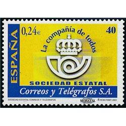 2001 España 3811/3812 Actividades Sociales    (Edifil)