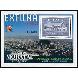 2001 Espagne BF-97 BF Exfilna 2001  **MNH TTB Très Beau  (Yvert&Tellier)