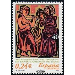 2001 Espagne 3388 Sto.Domingo du Millénaire de Silos  **MNH TTB Très Beau  (Yvert&Tellier)