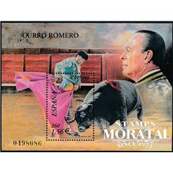 2001 Spanien Block101 Curro Romero  ** Perfekter Zustand  (Michel)