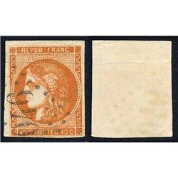 1849 France  Sc# 7  0. Type Ceres 40 c. (Scott)