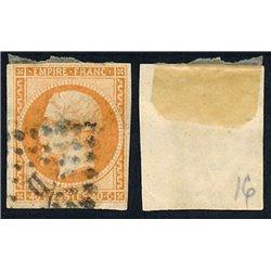1853 France  Sc# 18  0. Emperor Napoleon III 40c. (Scott)