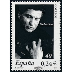2001 Spain  Sc 3128 Carlos Cano Painting **MNH Very Nice, Mint Hever Hinged?  (Scott)