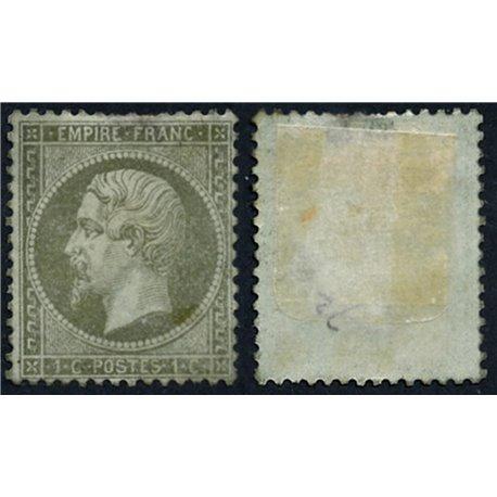 1862 Francia Yv 19  0. Napoleon III (Yvert&Tellier)