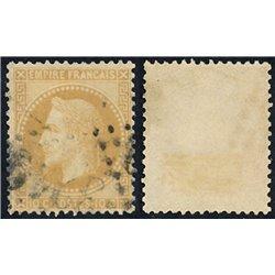 1867 France  Sc# 0  0. Napoleon III  Laurel 10c. (Scott)
