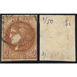 1870 France  Sc# 0  0. Ceres (Bourdeaux) 2c. (Scott)