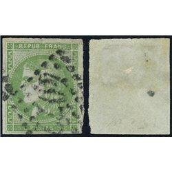 1870 France  Sc# 41  0. Ceres (Bourdeaux) 5c. (Scott)