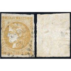 1870 France  Sc# 0  0. Ceres (Bourdeaux) 10c. (Scott)
