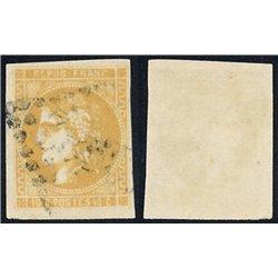 1870 France  Sc# 0  (o) Used, Nice. Ceres (Bourdeaux) 10c. (Scott)