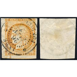 1870 France  Sc# 47  (o) Used, Nice. Ceres (Bourdeaux) 40c. (Scott)