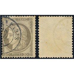 1872 France  Sc# 62  0. Ceres 30c. (Large Numerals) (Scott)