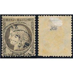 1872 Frankreich Mi# 54  0. Cereskopf 30c. (Michel)