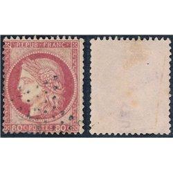 1872 Frankreich Mi# 55  0. Cereskopf 80c. (Michel)