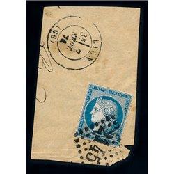 1873 Frankreich Mi# 51  0. Cereskopf 25c. (Michel)
