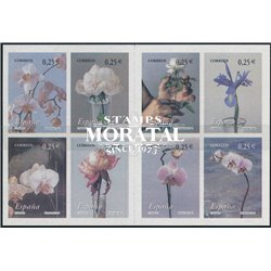 2002 Spain  Sc 3145 Booklet. Flower and Landscape Flowers and plants **MNH Very Nice, Mint Never Hinged?  (Scott)
