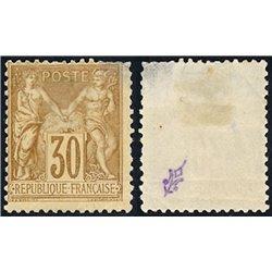 1876 Frankreich Mi# 64 II  0. Allegorien 30c. (Michel)