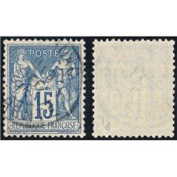 1892 Frankreich Mi# 83  0. Allegorien 15c. (Michel)
