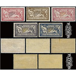 1900 France  Sc# 121, 123, 125/126, 130  ** MNH Very Nice. Merson (Scott)  Generic Series