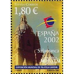 2002 España 3869C Carnet Flor y Paisaje    (Edifil)